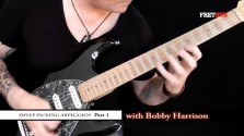 Sweep Picking Arpeggios - Part 1 - a FretHub online guitar lesson, with Bobby Harrison
