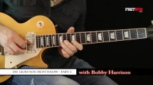 150 Rock Licks - Part 2 - a FretHub online guitar lesson, with Bobby Harrison