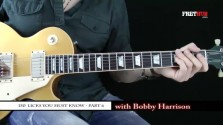 150 Rock Licks - Part 6 - a FretHub online guitar lesson, with Bobby Harrison