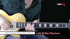 150 Rock Licks - Part 11 - a FretHub online guitar lesson, with Bobby Harrison