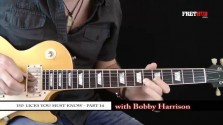 150 Rock Licks - Part 14 - a FretHub online guitar lesson, with Bobby Harrison