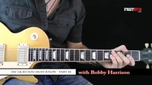 150 Rock Licks - Part 18 - a FretHub online guitar lesson, with Bobby Harrison