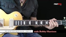 150 Rock Licks - Part 19 - a FretHub online guitar lesson, with Bobby Harrison