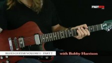 Blues Guitar part 7 - a FretHub online guitar lesson, with Bobby Harrison