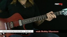 Blues Guitar part 15 - a FretHub online guitar lesson, with Bobby Harrison