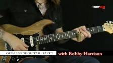 Slide: Open E part 2 - a FretHub online guitar lesson, with Bobby Harrison