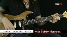 Slide: Open E part 4 - a FretHub online guitar lesson, with Bobby Harrison