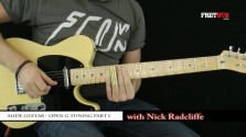 Slide: Open G part 1 - a FretHub online guitar lesson, with Nick Radcliffe