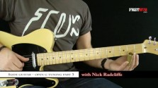 Slide: Open G part 3 - a FretHub online guitar lesson, with Nick Radcliffe