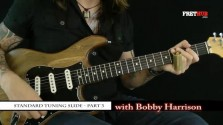 Slide: Standard Tuning 3 - a FretHub online guitar lesson, with Bobby Harrison