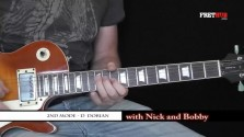 Second Mode - D Dorian - a FretHub online guitar lesson, with Nick Radcliffe and Bobby Harrison