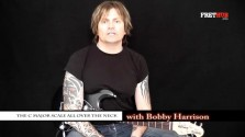 The C Major Scale All Over The Neck - a FretHub online guitar lesson, with Bobby Harrison