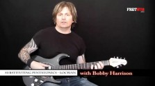 Substituting Pentatonics - Locrian - a FretHub online guitar lesson, with Bobby Harrison