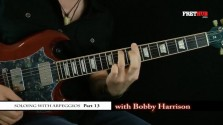 Soloing With Arpeggios - Part 13 - a FretHub online guitar lesson, with Bobby Harrison