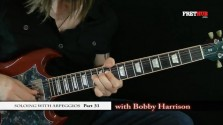 Soloing With Arpeggios - Part 31 - a FretHub online guitar lesson, with Bobby Harrison