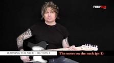 The Notes On The Neck - Part 1 - a FretHub online guitar lesson, with Bobby Harrison