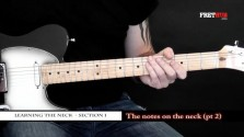 The Notes On The Neck - Part 2 - a FretHub online guitar lesson, with Bobby Harrison