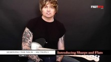 Introducing Sharps and Flats - a FretHub online guitar lesson, with Bobby Harrison