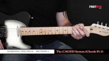 The Caged System - Chords pt 3 - a FretHub online guitar lesson, with Bobby Harrison