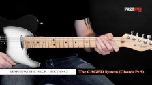 The Caged System - Chords pt 5 - a FretHub online guitar lesson, with Bobby Harrison