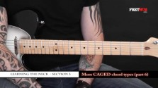 More Caged Chord Types - Part 6 - a FretHub online guitar lesson, with Bobby Harrison