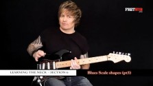 Blues Scale Shapes - Part 3 - a FretHub online guitar lesson, with Bobby Harrison