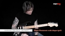 Major Pentatonic Scale Shapes - pt3 - a FretHub online guitar lesson, with Bobby Harrison