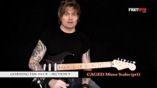 Caged Minor Scales - Part 1 - a FretHub online guitar lesson, with Bobby Harrison