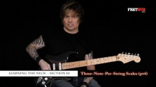 Three Note Per String Scales - Part 4 - a FretHub online guitar lesson, with Bobby Harrison